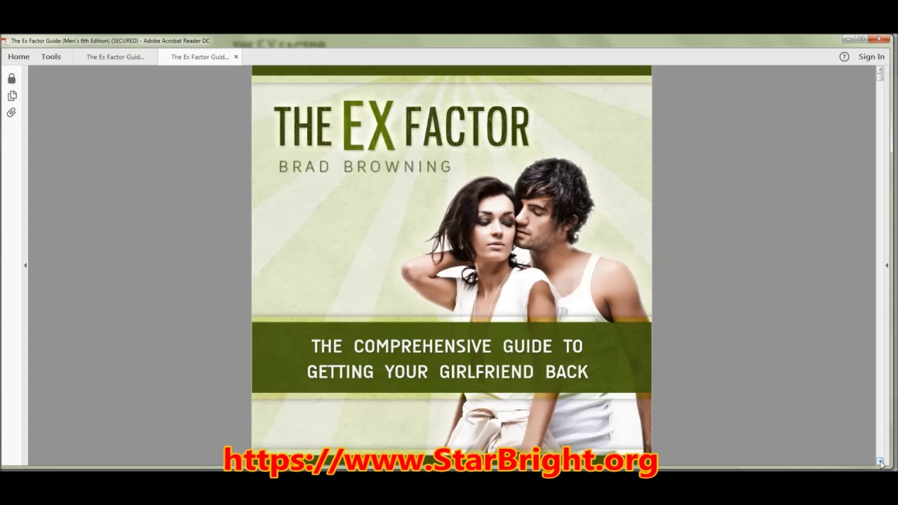 Brad Browning's The Ex Factor Guide