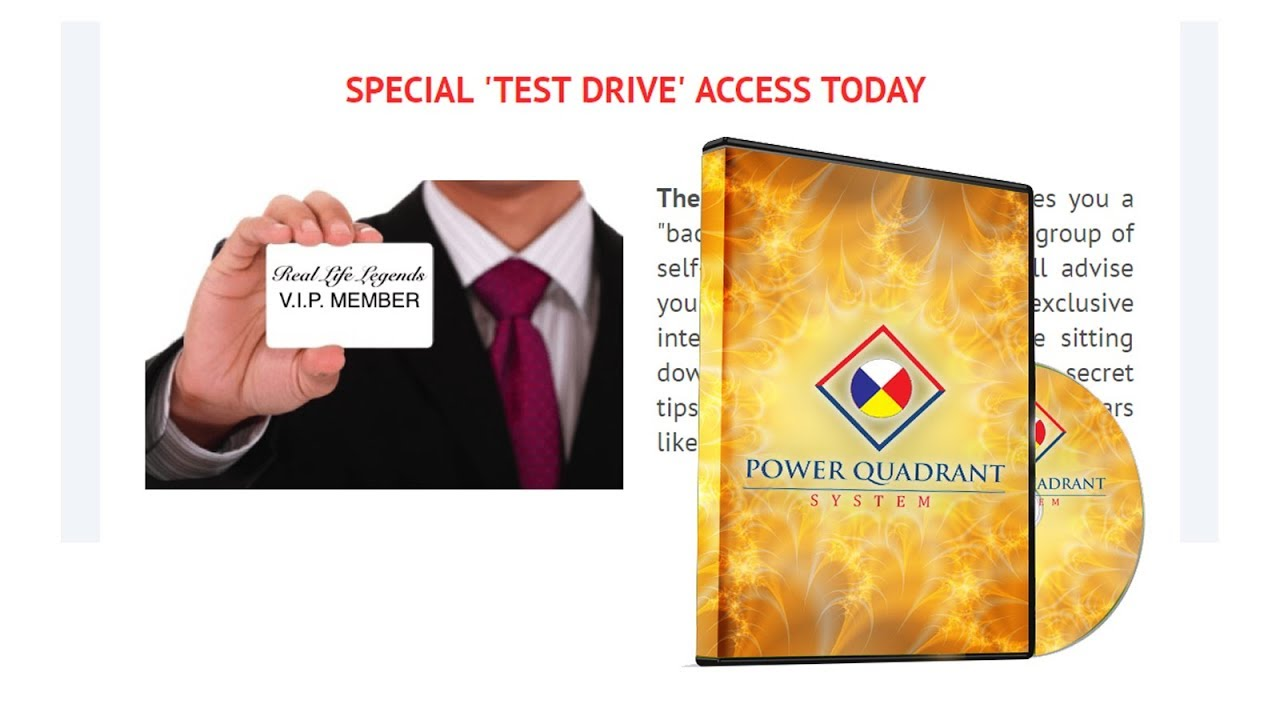 Power Quadrant System bonuses